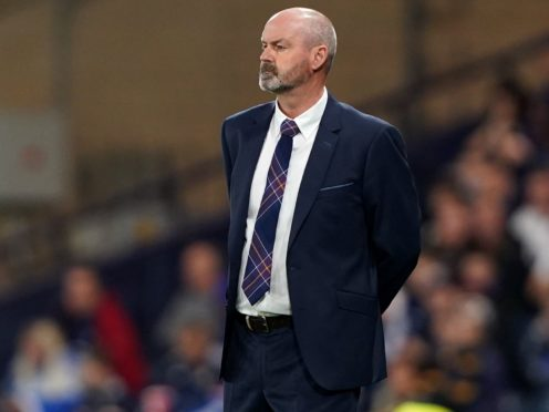 Scotland manager Steve Clarke was pleased with the Moldova win (Andrew Milligan/PA)