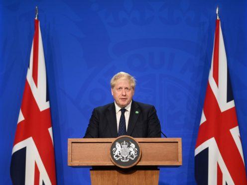 Prime Minister Boris Johnson (Toby Melville/PA)