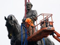 The statue is one of America's largest monuments to the Confederacy (Steve Helber, Pool/AP)