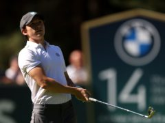 Tom Holland took part in the Pro-Am for the BMW PGA Championship at Wentworth Golf Club (Steve Paston/PA)