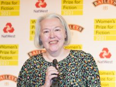 Susanna Clarke wins the Women's Prize for Fiction award 2021 (Ian West/PA)