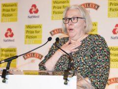 Susanna Clarke wins the Women's Prize for Fiction award 2021 for her book Piranesi (Ian West/PA)