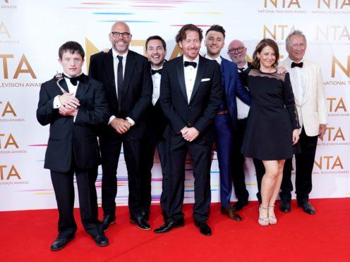 Line Of Duty's Martin Compston dedicates NTA award to the show's fans (Ian West/PA)