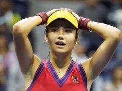 Emma Raducanu has reached the final of the US Open (Zuma/PA)