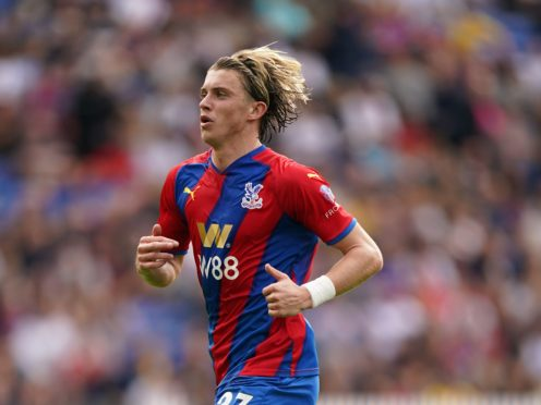 Crystal Palace manager Patrick Vieira believes Conor Gallagher (pictured) is not yet ready for an England call-up (Adam Davy/PA)