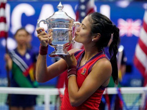 Emma Raducanu is the US Open champion (Seth Wenig/AP)