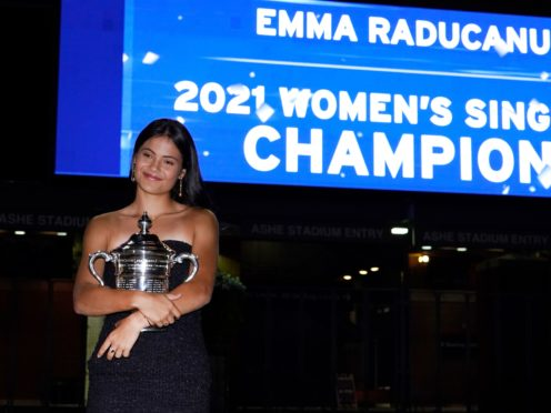 Emma Raducanu won the US Open in memorable style (Elise Amendola/AP)