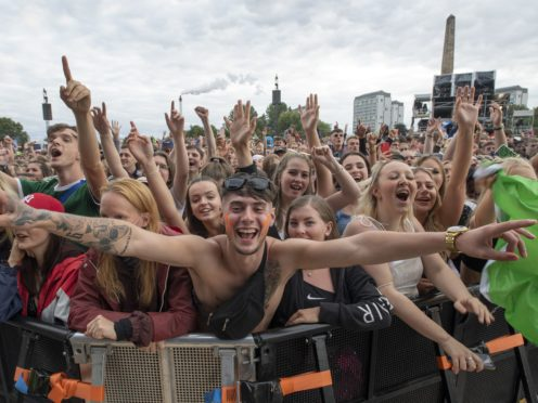 The TRNSMT festival took place in Glasgow at the weekend (Lesley Martin/PA)
