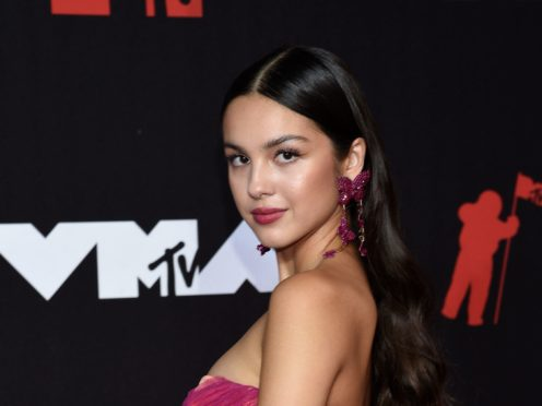 Pop sensation Olivia Rodrigo's breakout year continued as she won her first-ever MTV Video Music Award (Evan Agostini/Invision/AP)