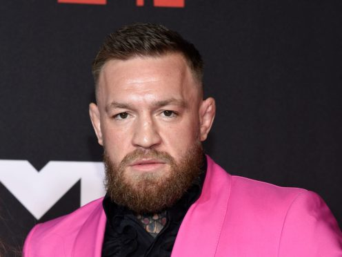 Irish UFC star Conor McGregor called Machine Gun Kelly a 'little vanilla boy rapper' after the pair reportedly had a scuffle on an awards show red carpet (Evan Agostini/Invision/AP)