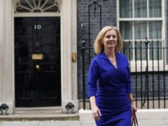 Newly appointed Foreign Secretary Liz Truss leaves Number 10 Downing Street (Stefan Rousseau/PA)