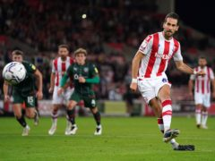 Mario Vrancic missed a penalty for Stoke (Nick Potts/PA)