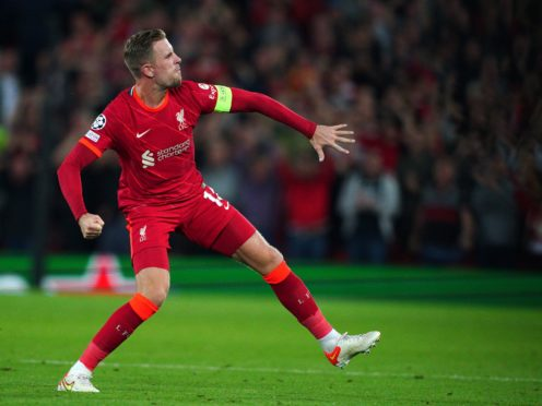 Liverpool captain Jordan Henderson knows they have to cut out costly errors (Peter Byrne/PA)