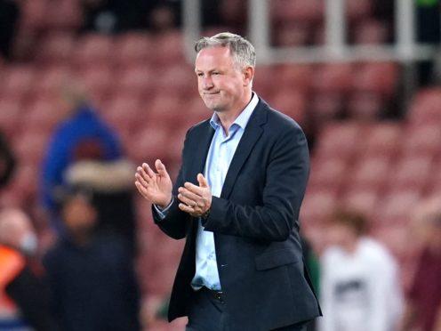 Michael O'Neill Stoke drew with Barnsley (Nick Potts/PA)