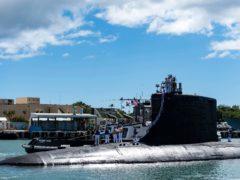 (Mass Communication Specialist 1st Class Michael B Zingaro/US Navy via AP)