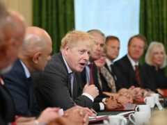 Boris Johnson holds his first Cabinet meeting since the reshuffle (Ben Stansall/PA)