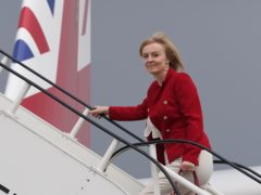 Liz Truss is to meet the Iranian foreign minister (Stefan Rousseau/PA)