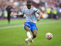 Aaron Wan-Bissaka will miss two matches (Mike Egerton/PA)