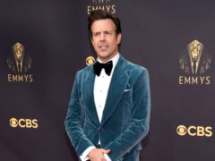 Feel-good football comedy Ted Lasso scored big at the 73rd Primetime Emmy Awards, with star Jason Sudeikis among the winners (AP Photo/Chris Pizzello)