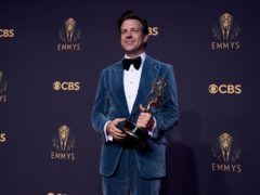 Jason Sudeikis was among the winners at the Emmy Awards (AP Photo/Chris Pizzello)