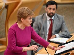 The First Minister announced the fund on Tuesday (Jeff J Mitchell/PA)
