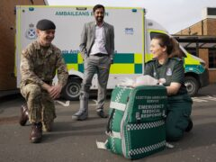 The army has been drafted in to help the Scottish Ambulance Service (Andrew Milligan/PA)