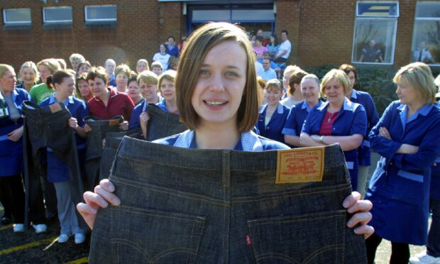 Trip back in time: The Levi's factory in Dundee that made a million pairs of jeans every week