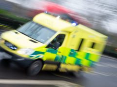 The Scottish Ambulance Service is to receive extra cash and assistance from firefighters to help deal with long waiting times. (Dominic Lipinski/PA)