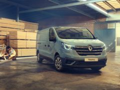 The new Renault Trafic has gone on sale