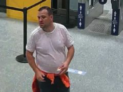 Officers believe the man may have information that can assist them (British Transport Police/PA)
