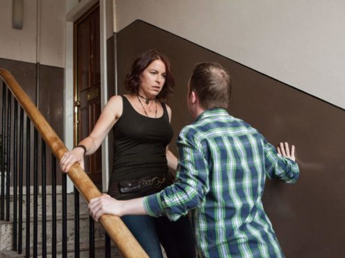 Domestic abuse cases have risen to their highest level in five years (Laura Dodsworth/Scottish Women's Aid/PA)