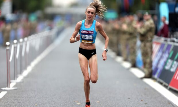 'This body has taken me to three Olympic Games': Dundee runner Eilish McColgan hits out at online trolls