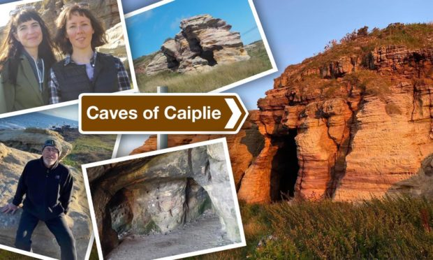 Caves of Caiplie: Hidden and enchanting, this is Fife's Grand Canyon