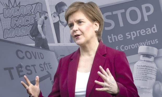 Nicola Sturgeon says no Covid restrictions planned despite rise in cases