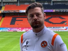 Dundee United boss Tam Courts (Ronnie Esplin/PA)