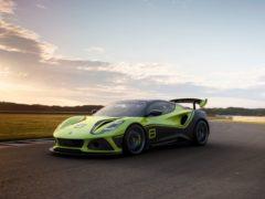 The Emira GT4 packs a 3.5-litre V6