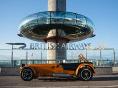 Caterham is opening a pop-up dealership on Brighton's seafront