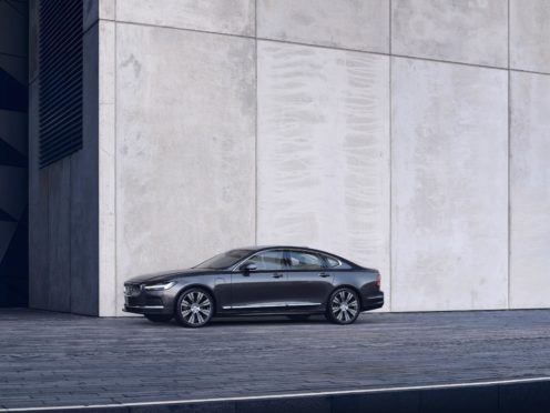 The new Volvo engines bring an improved electric range