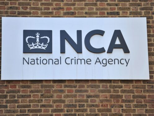 National Crime Agency officers have arrested a man in Northern Ireland (Nick Ansell/PA)