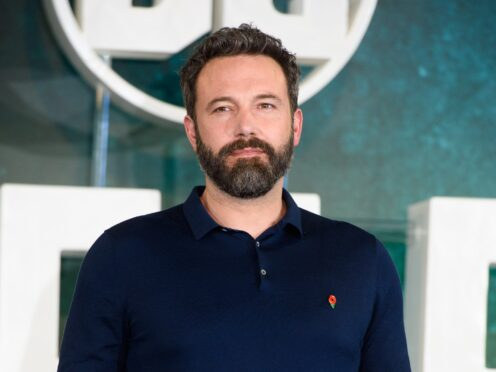 Ben Affleck has teamed up with Matt Damon once again to write The Last Duel (Matt Crossick/PA)