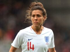 England's most-capped player Fara Williams has been inducted into the WSL Hall of Fame (Mike Egerton/PA)