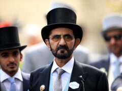 Sheikh Mohammed bin Rashid Al Maktoum (Mike Egerton/PA)