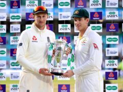 England captain Joe Root, left, is yet to commit to the Ashes tour but Australia counterpart Tim Paine is bullish it will go ahead (Mike Egerton/PA)