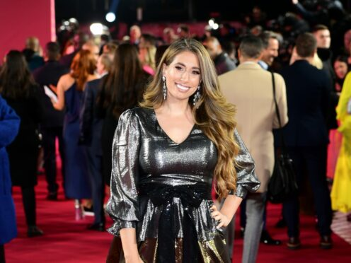Stacey Solomon said she has enjoyed 'the most magical week (Ian West/PA)