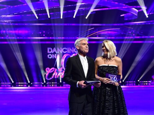 Host Phillip Schofield (left) and Holly Willoughby (Ian West/PA)