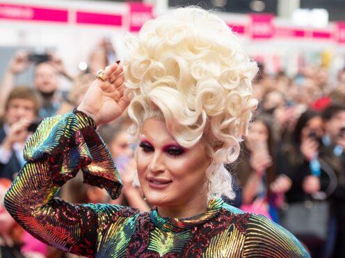 Drag queen The Vivienne (Dominic Lipinski/PA)