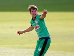 Ireland's Curtis Campher admitted his four wickets in four balls has not sunk in yet (Andrew Couldridge/PA)