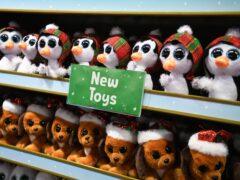 Toys on display at Hamleys (PA)
