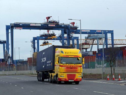 The Port of Belfast Harbour (Liam McBurney/PA)