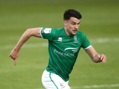 Lincoln's Regan Poole is a doubt for his side's Sky Bet League One clash with Wimbledon on Tuesday (Tim Goode/PA)